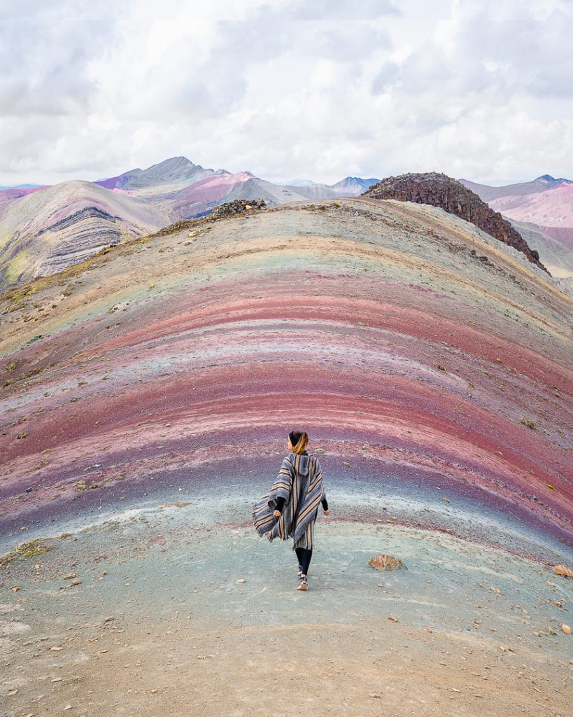 @simplysantos Alternative Rainbow Mountain Cusco Day Trip