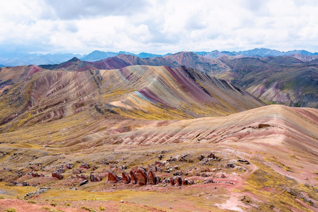 Alternative Rainbow Mountain Peru