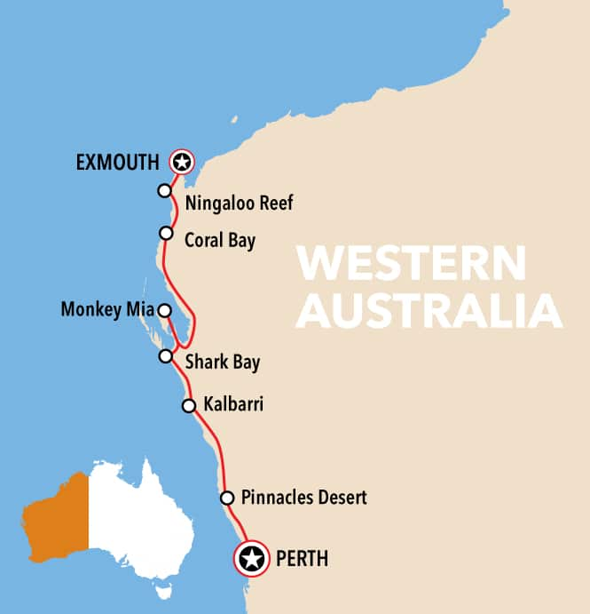 The Ultimate Road Trip, Western Australia (Exmouth to Perth)